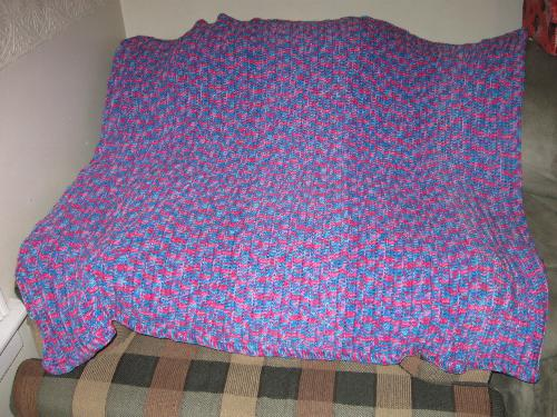 crocheted blanket - blanket