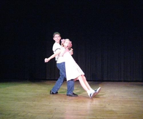 """Talent Show Winners - Kurt and Kami take 1st place in Talent Show with their rendition of """"My Philosophy: from the Broadway Musical """"Your'e a Good Man Charlie Brown"""""""
