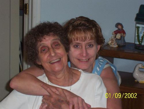 My Mom And I - This picture was taken on my birthday this year. Aug of '08