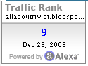 alexa rank  - alexa rank 9 for allaboutmylot.com