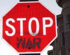 stop war - stop violence