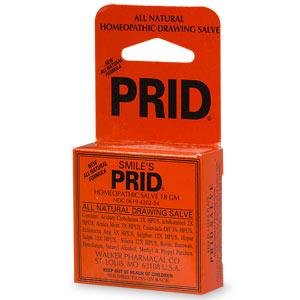 prid - great for spider bites