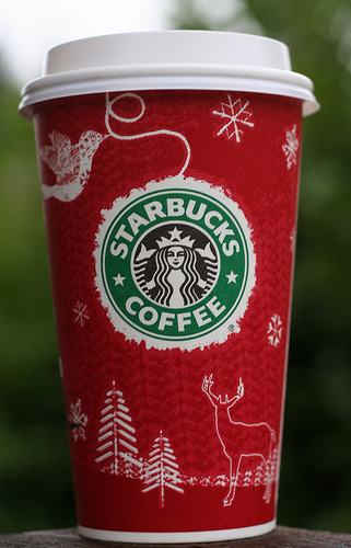 Starbucks Christams Cup - I just love this design