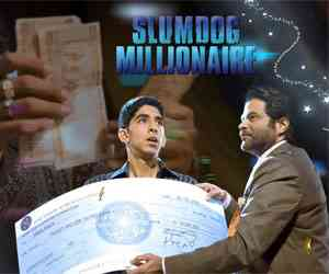slumdog millionaire - This is the pic of how a poor guy turns a millionaire