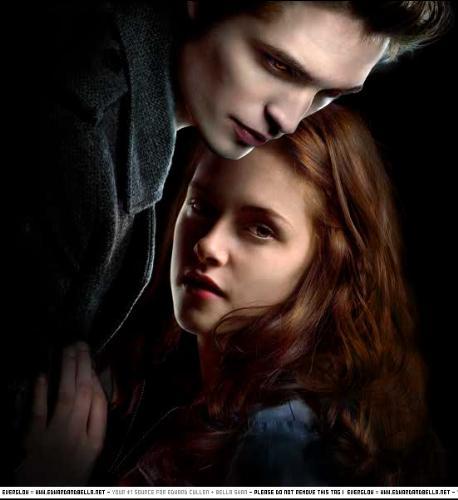 Twilight - Edward and Bella from Twilight.