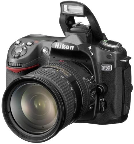 Nikon D90 - The new Nikon D90, latest offer from Nikon DSLR range of cameras.