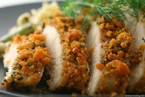 chicken delicacies - cheez it chicken