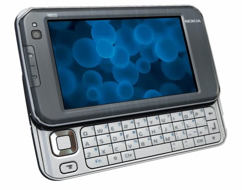 Nokia N810 - The lastest Internet Tablet from Nokia.