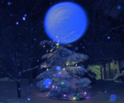 Night - Weird Blue Night
