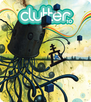 Clutter - Clutter in the home. Messy rooms, spring cleaning.