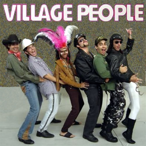 The Village People - The Village People had a famous song called Y.M.C.A. that had a special dance done to it in the 1970's.