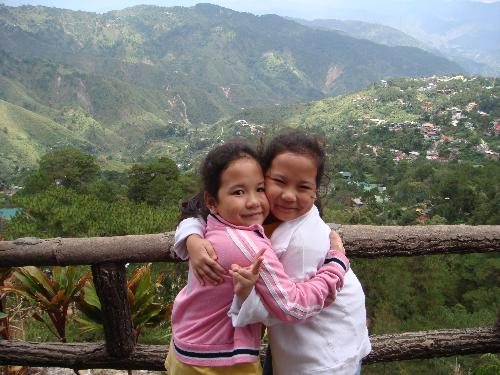 Baguio City, Philippines - Twins in Baguio