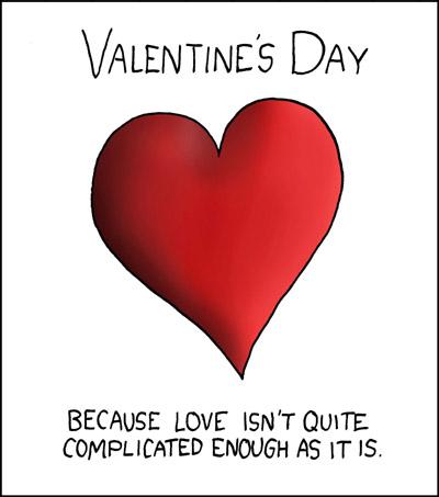 Valentine's Day  - Valentine's Day cartoon