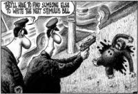 NY Post cartoon - this was an editorial cartoon in the NY Post