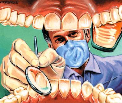 dentist - hate the dentist