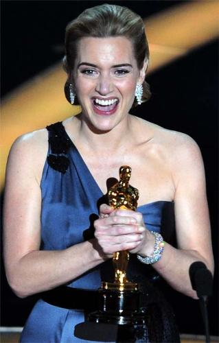 Kate winslate - Kate Winslate wins Oscar