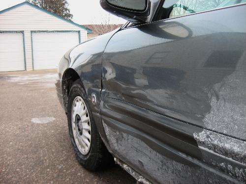 More damage - Another file to claim due to an accident Sunday