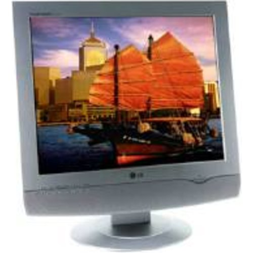 How bright is your computer monitor? - A picture of a computer monitor.