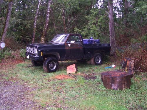 truck - rusty truck