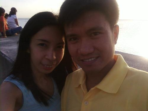 happy & contented - being happy and contented in a relationship.