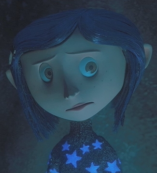 Coraline - a photo adapted from the film Coraline
