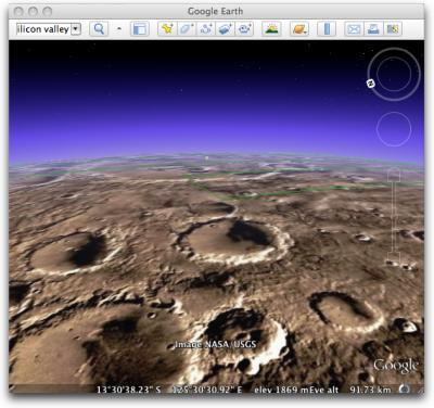 View mars on Google earth - i just watch mars on google earth