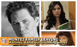 Ray and Lola Montez - A Martinez and Camila Banus, the Montez's of One Life to Live.