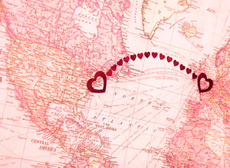 Overseas Relationship - A long distance relationship between two countries