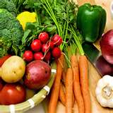 Be Vegetarian - A healthy vegetarian diet consists primarily of plant-based foods, such as fruits,  vegetables, whole grains, legumes, nuts and seeds. Because the emphasis is on nonmeat food sources, a vegetarian diet generally contains less fat and cholesterol, and typically includes more fiber.