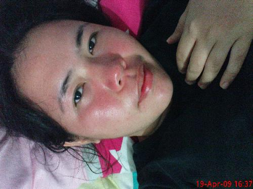 meh and my redness - heat so hot!!!