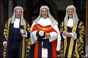 Justice Abu - Justice Abu and friends in court.