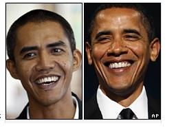 Anas and Obama - Can you tell the different between them?   :D