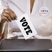 vote,poll,cast,elections -  To illustrate the casting of their vote in the elections