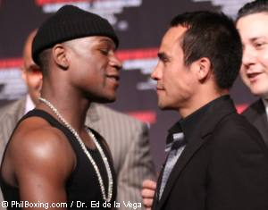 Mayweather-Marquez - Mayweather-Marquez on July 18th.
