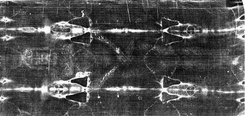 shroud of turin - negative of the shroud.