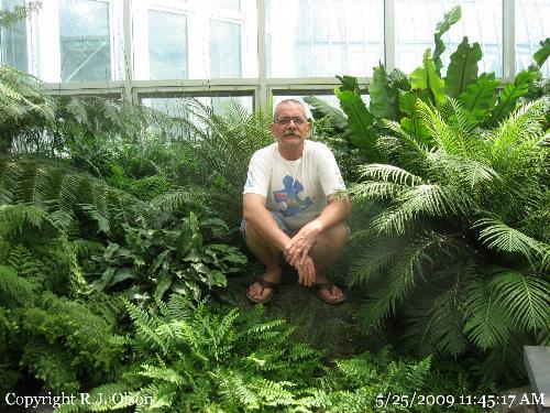 Grandpa Bob - Me at the Como Zoo on my birthday.