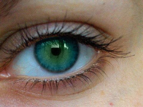 Eye!!!!!! - Thats eye colour I don't like.