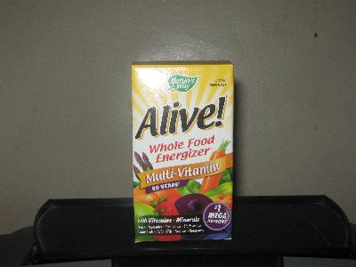 """ALIVE""image of the container - I send this picture to add an additional information of the respondent and to make sure this is the one I meant to be..."
