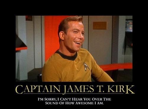kerk - Captain kerk reporting for duty.