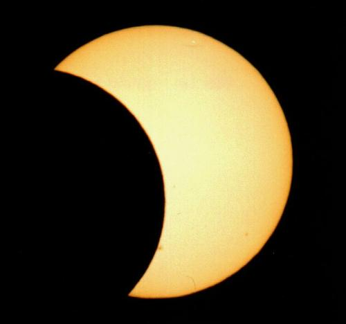 partial solar eclipse - it will be tomorrow july 22, 2009