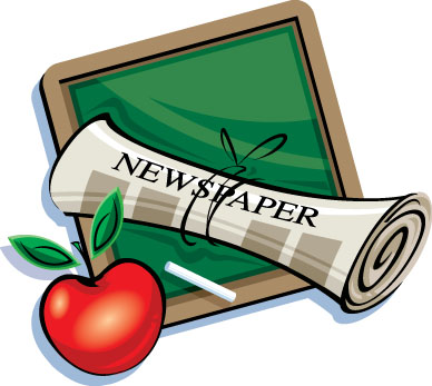 newspaper a source of knowledge -  make a hobby of reading a newspaper....