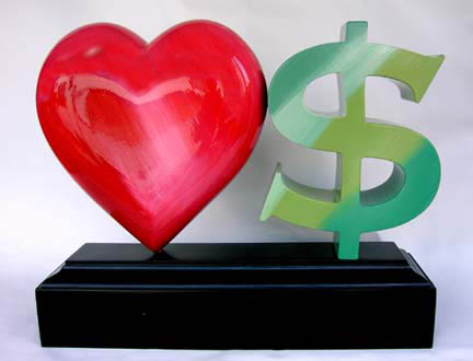 Love or money? - marry for money or marry for love?