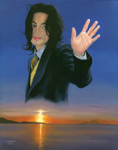 My Second Michael Jackson Painting - The second Michael Jackson painting I have done.
