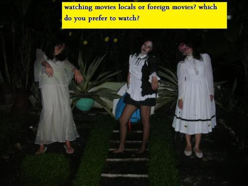 Local or Foreign movies? - Locals of foreign movies varies in terms of stories, background, special effects and sound effects. The moviegoers choose for quality and value information.