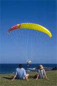Hang Gliding - This is the simplest way of flying,It's you along with the whole Mother Nature, No body in-between.