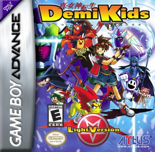Demikids - Demikids boxart for GameBoy Advance.