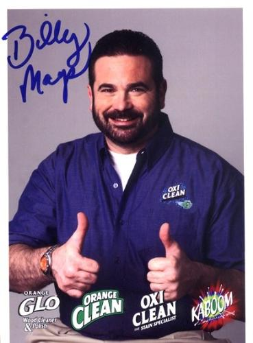 Billy Mays - Very energetic spokesperson for many products. But he died over two months ago; isn't it time we let him rest???