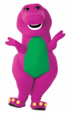 barney - the purple dino