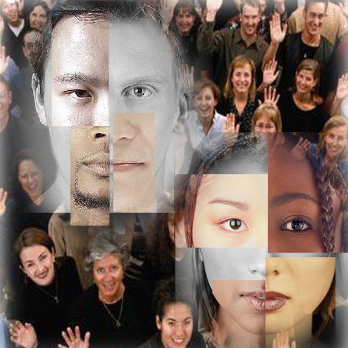 We are all One Family - Because science says humans are genetically homogenous.