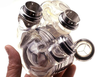 ABIOCOR artificial heart... - this is the ABIOCOR artificial heart...